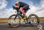 Jesse Thomas (USA) on the bike at the 2016 Ironman…
