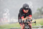 Karina Ottosen during the bike portion of the 2016 Ironman…