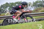 Liz Lyles during the bike portion of the 2016 Ironman…