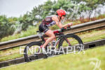 Laurel Wassner during the bike portion of the 2016 Ironman…