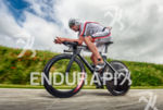 Boris Stein (GER) competes during the bike leg at the…