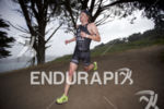 Eric Lagerstrom on the run leg at Escape From Alcatraz…