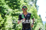 Lionel Sanders during the run portion of the 2016 Ironman…