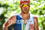 Chris Leiferman during the run portion of the 2016 Ironman…