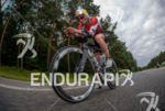 Daniela Ryf during the bike leg at the Ironman European…