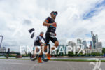 Eneko Llanos during the run leg at the Ironman European…