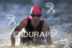 Jennifer Spieldenner exits the swim leg at the 2016 Ironman…