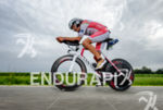 Jan Frodeno competes during the bike leg at Challenge Roth…