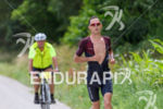 Nick Kastelein competes during the run leg at Challenge Roth…