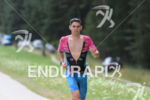 Joe Skipper competes during the run leg at Challenge Roth…