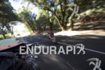 Sarah Piampiano on the bike at the 2016 Ironman Vineman…