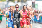Men's pack during the run portion of the 2016 Rio…