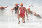 Carolina Routier during the swim portion of the 2016 Rio…