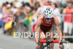 Nicola Spirig during the bike portion of the 2016 Rio…