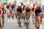 Vicky Holland during the bike portion of the 2016 Rio…