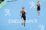 Vicky Holland during the finish portion of the 2016 Rio…