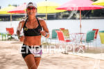 Age group athlete during the run leg of the Ironman…