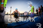 Harry Wiltshire (GBR) exists the water at Ironman Vichy in…