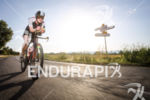 Faux Catherine  during the bike leg at Ironman Vichy in…
