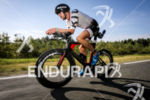 Marc Duelsen (DEU) completing the bike leg with a reversed…