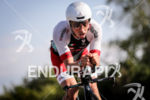 Ivan Risti (ITA) during the bike leg at Ironman Vichy…