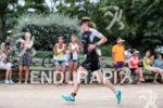Catherime Faux (GBR) during the run leg at Ironman Vichy…