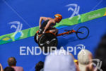 Geert Schipper during the run portion of the 2016 Rio…