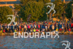 Swim start crowd ready for action at the 2016 Ironman…