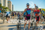 Female athlete in transition to start cycling at the 2016…