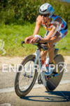 Christine Hammond on the bike course at the 2016 Ironman…
