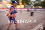 Age group athlete on the run course at the 2016…