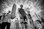 Josh Amberger and Alistair Brownlee (foreground, left to right) at…