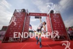 Age groupers begin to arrive at the finish of the…