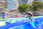 Grace Norman during the bike portion of the 2016 Rio…