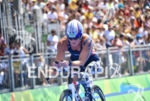 Melissa Stockwell during the bike portion of the 2016 Rio…