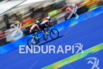 Team GB during the  bike portion of the 2016 Rio…