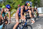 Gwen Jorgensen during the bike portion of the 2016 WTS…