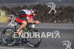 Paul Mathews (AUS) on bike at the Ironman World Championship…