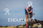 Matt Russell (USA) on bike early in the race at…
