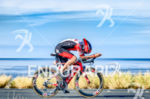 Tim Don (GBR) competes during the bike leg at the…