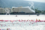 Female race start of the 2016 Ironman World Championship in…