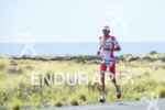 Jan Fordeno during the run portion of the 2016 Ironman…