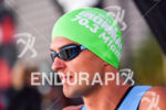 Terenzo Bozzone during the swim portion of the 2016 Ironman…