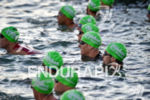 Race start at the 2016 Ironman 70.3 Miami in Miami…