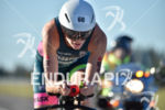 Leanda Cave during the bike portion of the 2016 Ironman…