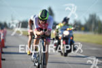 Ellie Salthouse during the bike portion of the 2016 Ironman…