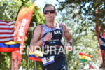 Matt Hanson during the  portion of the 2016 Ironman 70.3…