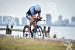 Ariane Monticeli during the bike portion of the 2016 Ironman…