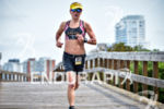 Kirsty Jahn during the bike portion of the 2016 Ironman…