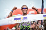 Santiago Ascenco during the finish portion of the 2016 Ironman…